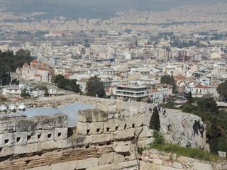 Fototapeta na wymiar Paisagem urbana na Grecia