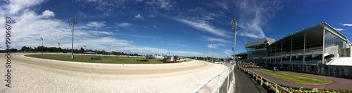 Alexandra Park Raceway in Auckland New Zealand Fototapet
