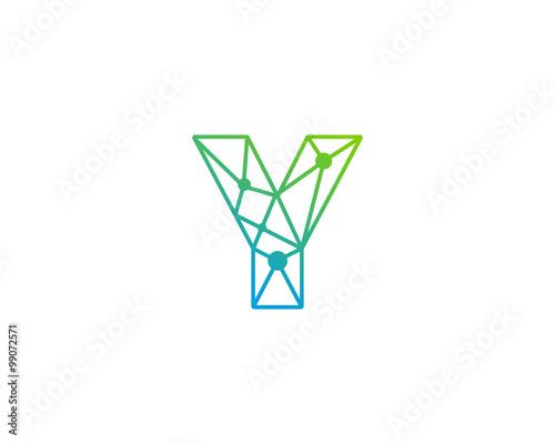 Connect line letter y logo design template element buy this stock connect line letter y logo design template element maxwellsz