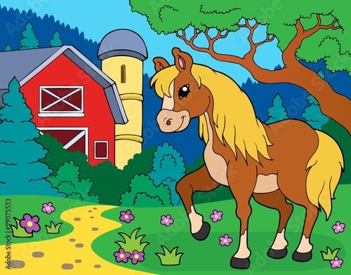 Poster Pony Horse theme image 8