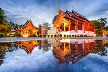 Wat Phra Singh In Chiang Mai, ...