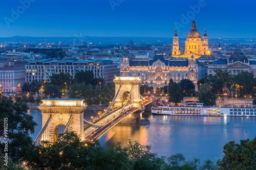 fototapeta na szkło BUDAPEST IN HUNGARY