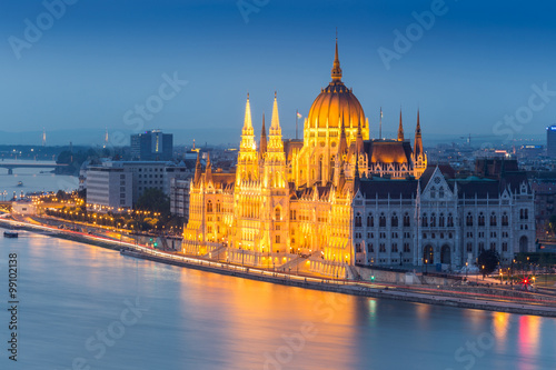 Fotografia  BUDAPEST IN HUNGARY