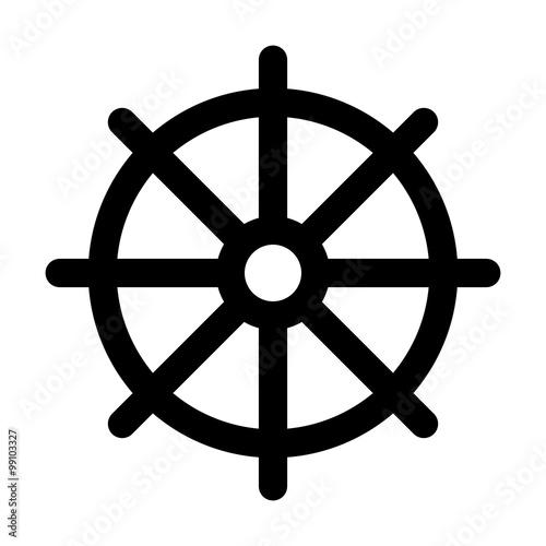 Dharmachakra Wheel Of Dharma A Symbol Of Buddhism And Hinduism