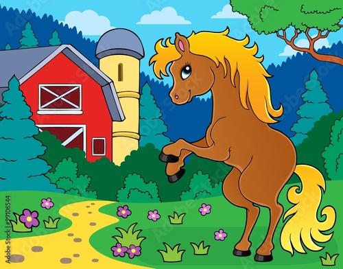 Poster Pony Horse theme image 9
