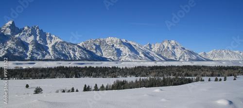 Grand Tetons National Park Mountain Range #99113522