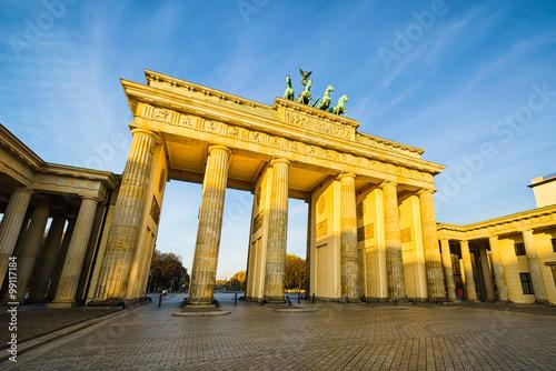 Staande foto Berlijn Brandenburger Tor, Berlin