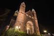 erloeser church bad homburg germany at night
