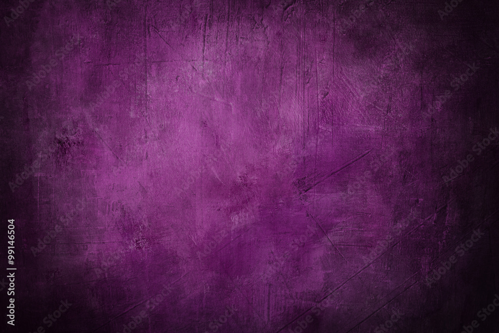 Fototapety, obrazy: grunge purple background or texture with dark vignette borders