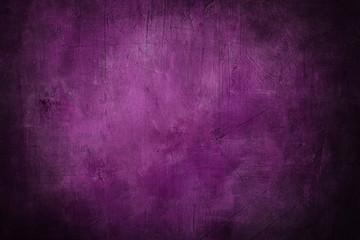 grunge purple background or texture with dark vignette borders