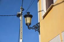 Lámpara De Forja Antigua