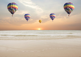 Fototapeta Ballooning