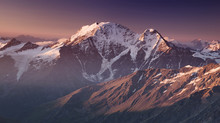 High Mountain In Morning Time....