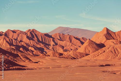 Foto op Aluminium Oranje eclat Northern Argentina