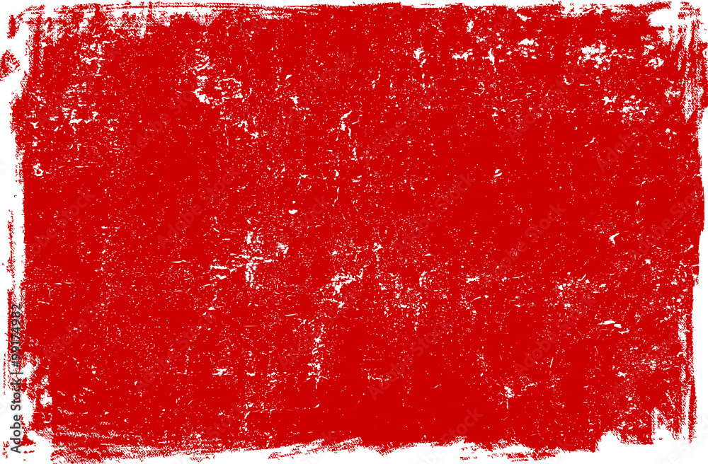 Fototapety, obrazy: Red grunge scratched background texture