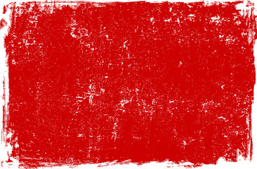 Red grunge scratched background texture
