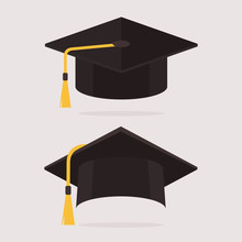 Graduation Cap Vector Set