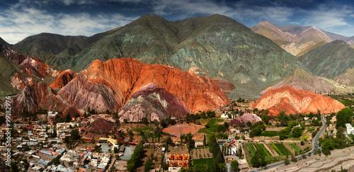 Fotografie, Tablou  7 colors mountain