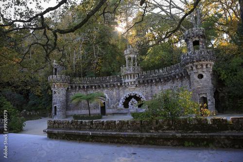 Portal of the Guardians in Quinta da Regaleira Poster