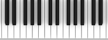 Piano Keyboard. Learning Piano...