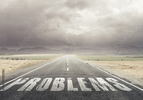 Fototapety, obrazy: Direction for problem solution