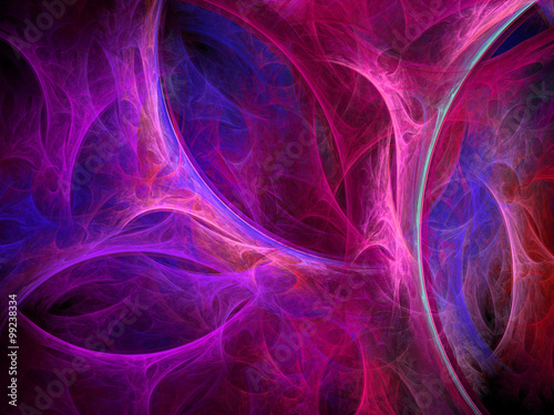 Keuken foto achterwand Fractal waves Abstract wallpaper. Abstract fractal. Fractal art background for creative design. Decoration for wallpaper desktop, poster, cover booklet. Abstract texture. Psychedelic. Print for clothes, t-shirt.