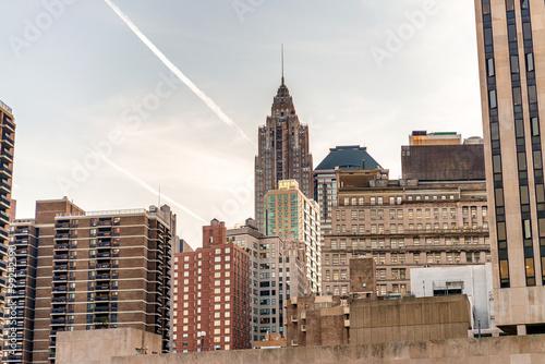 Downtown Manhattan skyscrapers