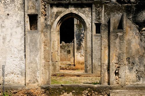 Foto op Aluminium Rudnes Kenya, Gede ruin