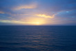 Sunrise over atlantic ocean / Sunrise in December on Gran Canaria