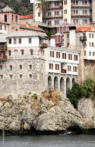 Fotografie, Obraz  St. Gregoru Monastery on Mount Athos