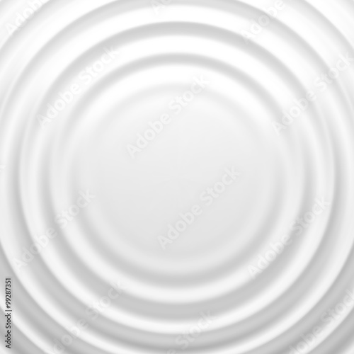 White rippled background Wall mural