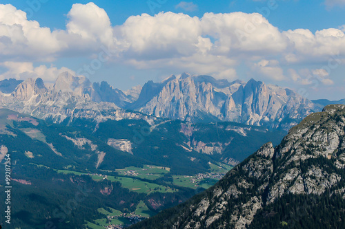Moena montagne del Trentino Dolomiti