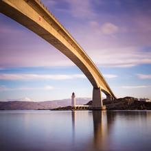 Skye Bridge At Early Morning On Isle Of Skye - Scotland, UK