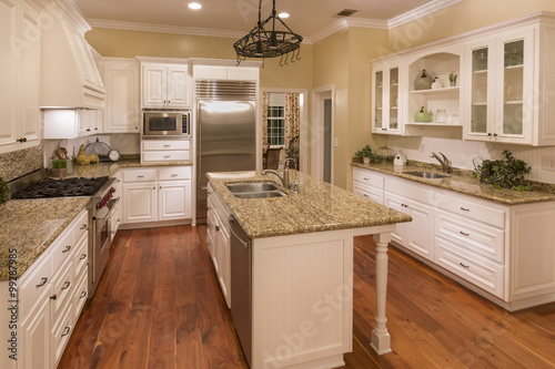 Fotografia, Obraz  Beautiful Custom Kitchen Interior