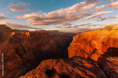 Poster Lichtroze Grand Canyon