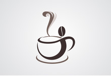 Cofffe Cup Logo Vector