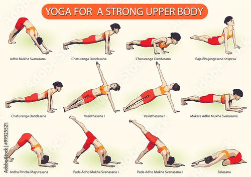 Fotografia  YOGA For Strong Upper Body