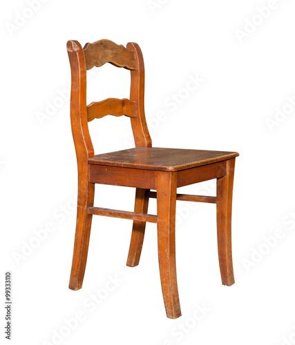 schöner alter antiker stuhl