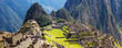 Panorama Machu Picchu Lost city of Inkas, new world wonder