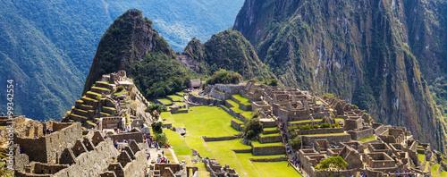 Zdjęcie XXL Panorama Machu Picchu Zaginione miasto Inkas, nowy cud świata
