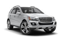 Silver SUV