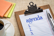 Agenda List On Clipboard And C...
