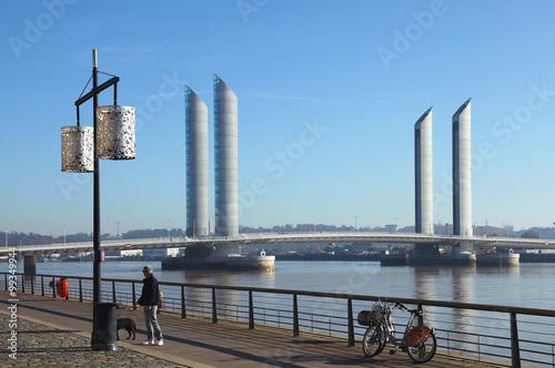 Poster Bridges Pont Chaban-Delmas à Bordeaux