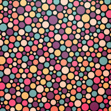 Colorful Dotted Abstract Background