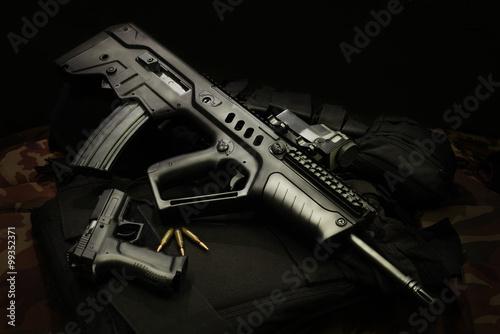 Fotografía  Rifles de asalto israelíes
