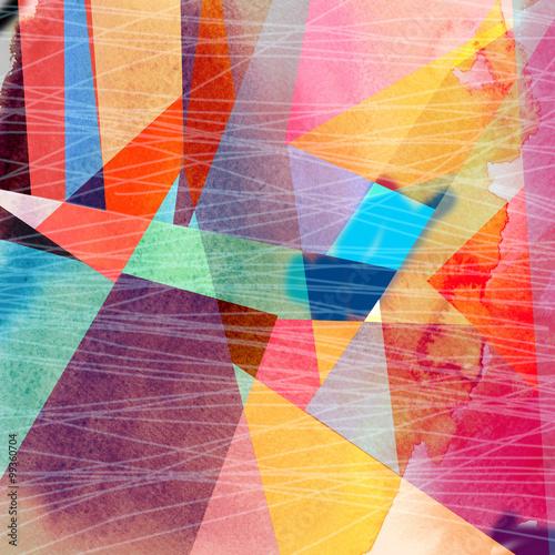 Obraz Abstrakcyjne kolorowe tło - fototapety do salonu
