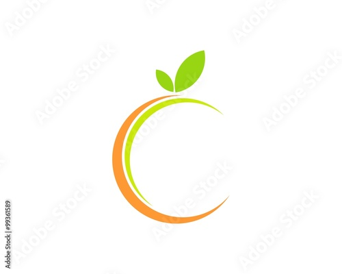 Abstract Orange Fruit Buy This Stock Vector And Explore