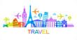 Travel famous landmarks