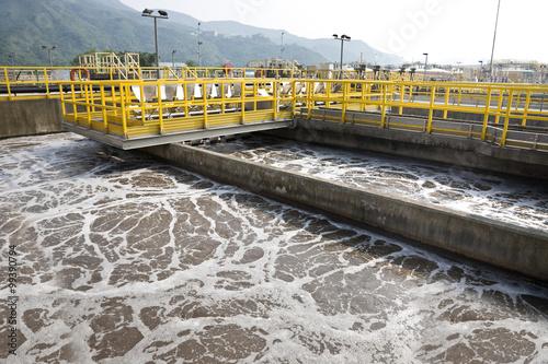 Valokuva  Sewage treatment plant