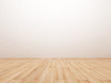 Empty Room With Wooden Floor